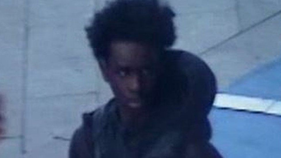 CCTV image of person of interest