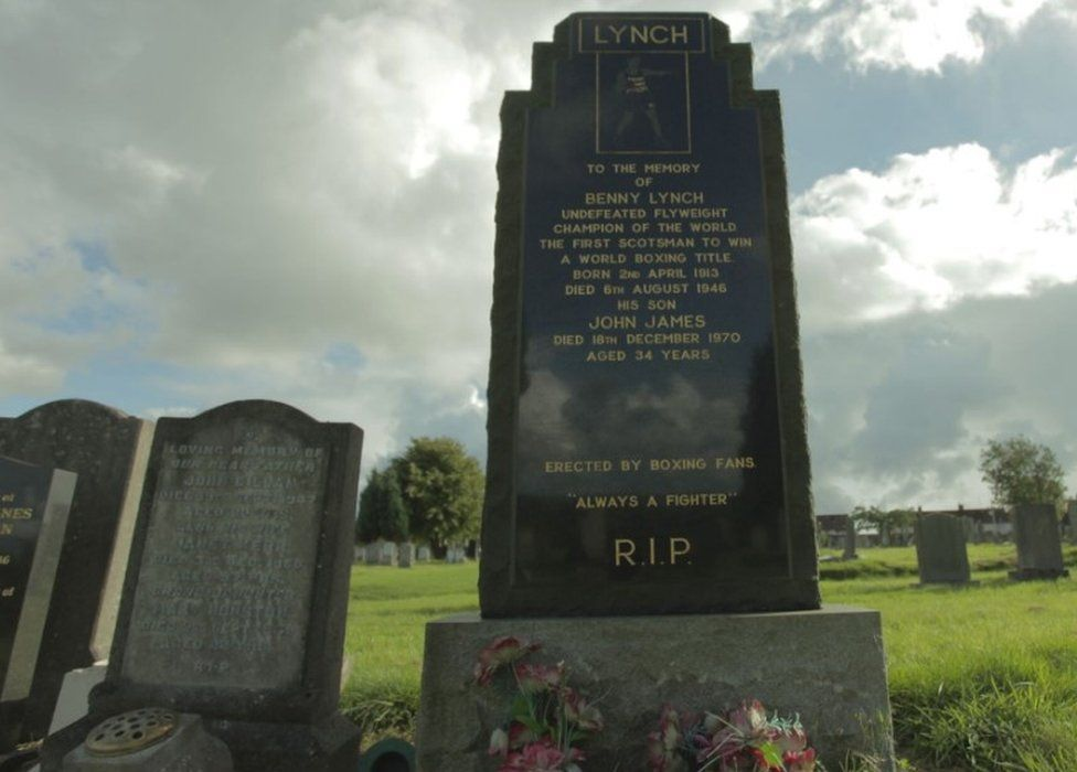 The grave of Benny Lynch