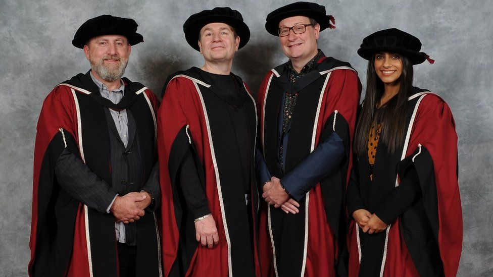 Cast and crew of Doctor Who given honorary doctorates