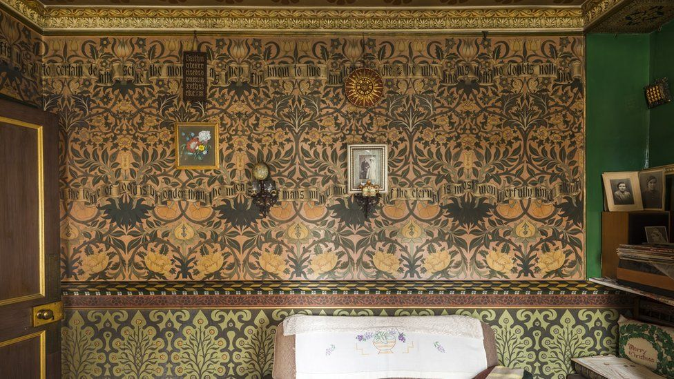 The Drawing Room at the David Parr House