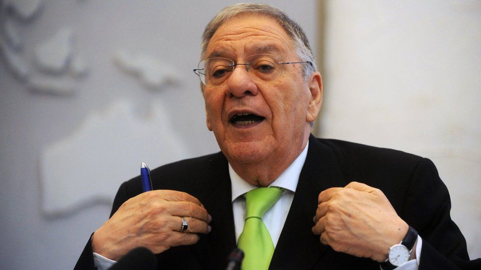 Djamel Ould Abbes, the Algerian Minister of Health, Population and Hospital Reform