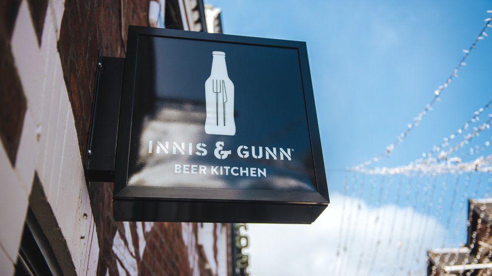Innis & Gunn beer kitchen in Glasgow