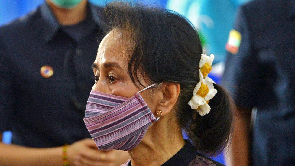 Aung San Suu Kyi, January 2021