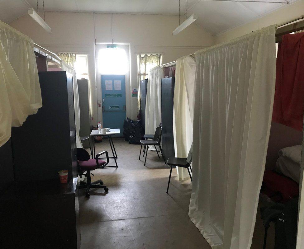 Living accommodation at Napier