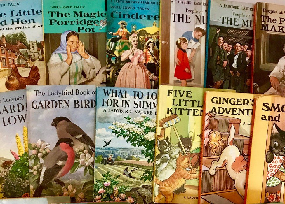 Ladybird books: Exhibition of literary 'time capsules' - BBC News