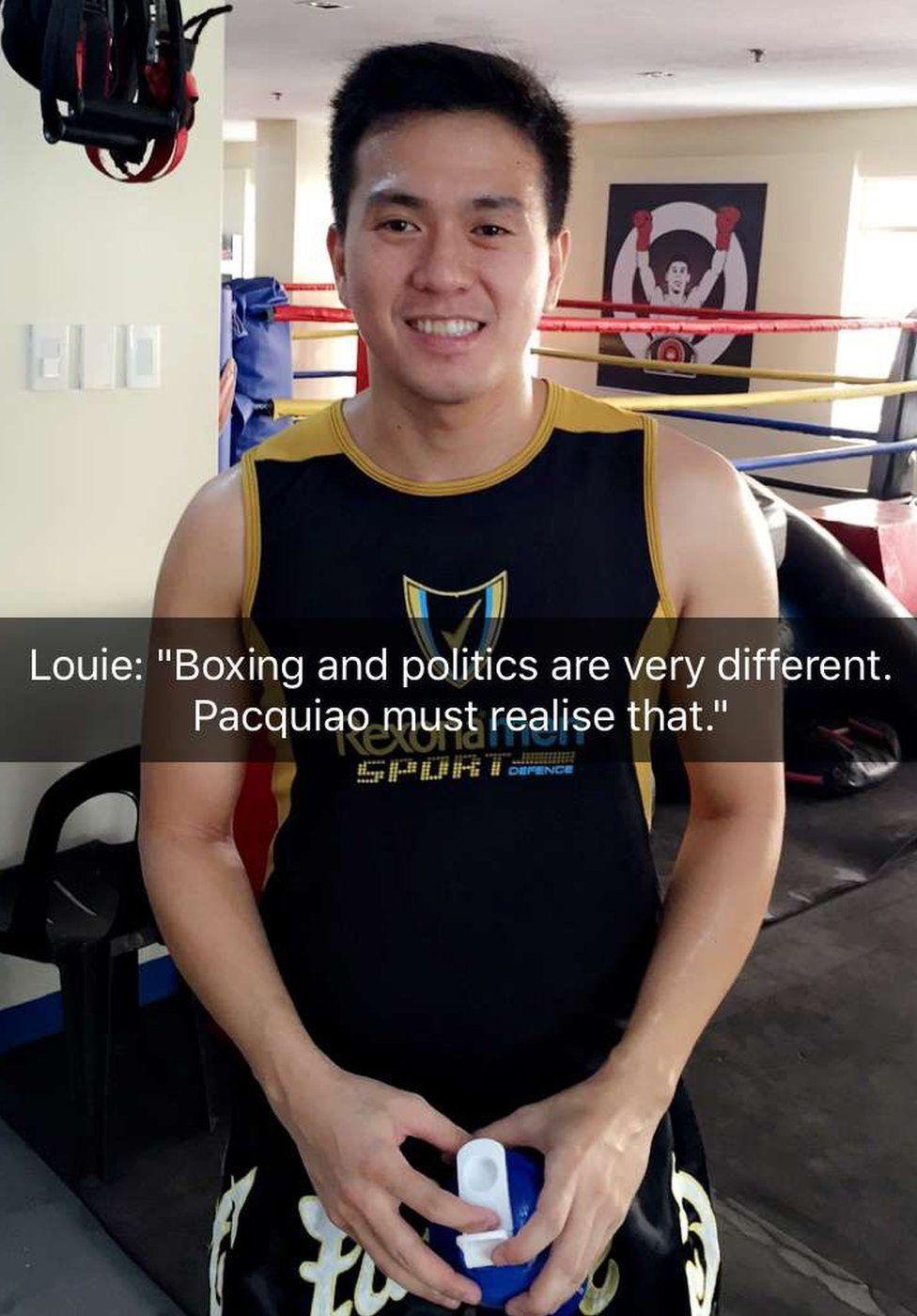 Louie boxer