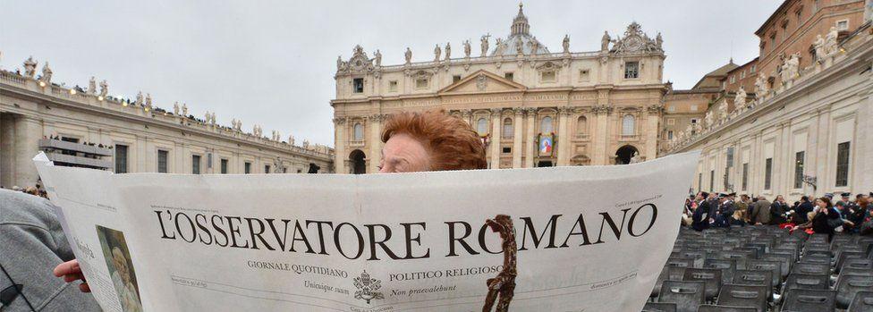 File pic of L'Osservatore Romano