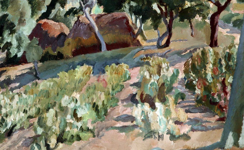 The Vineyard by Vanessa Bell