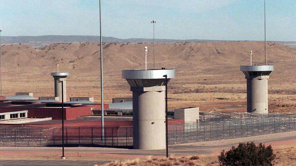 Supermax facility in Colorado, US