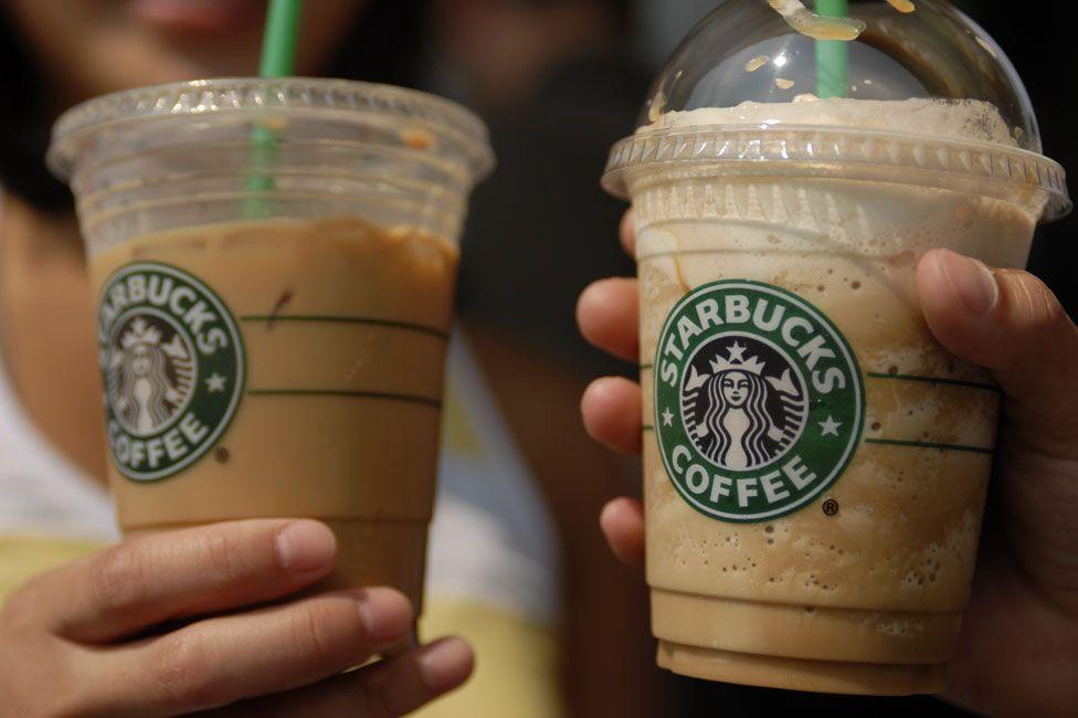 Coffee-based drinks from Starbucks