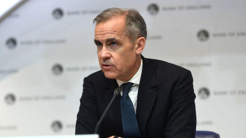 Former Bank of England governor Mark Carney