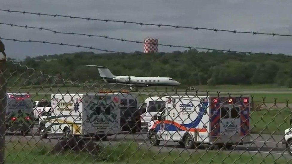Emergency services at New York Stewart International Airport