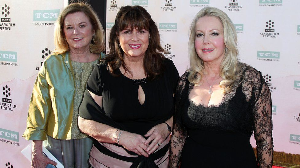 Heather Menzies-Urich, Debbie Turner and Kym Karath attends the 2015 TCM Classic Film Festival Opening Night Gala 50th anniversary screening of 'The Sound Of Music