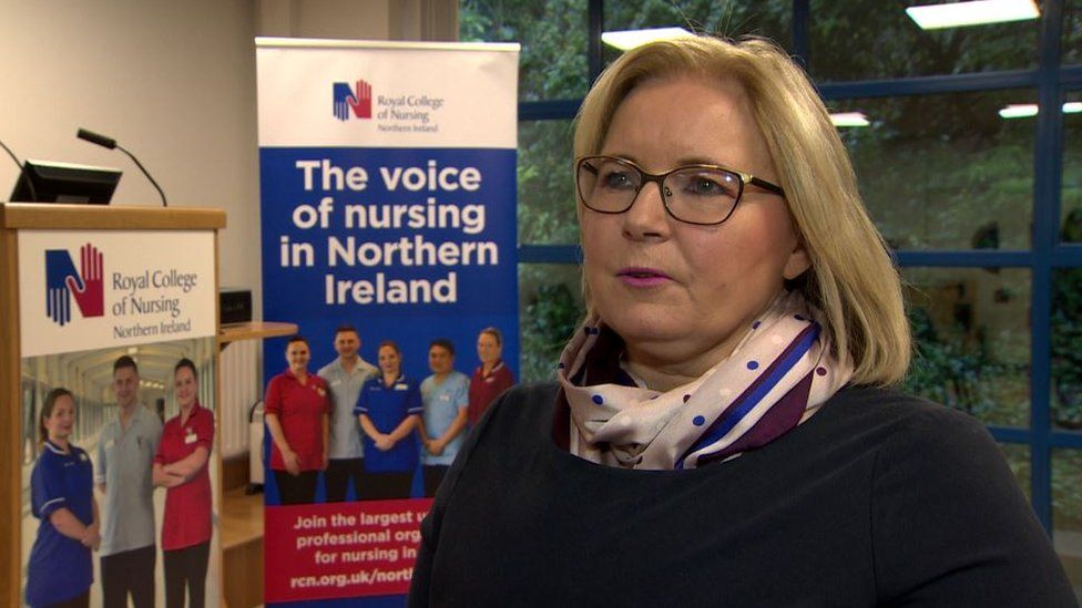 Pat Cullen, director of the RCN in Northern Ireland