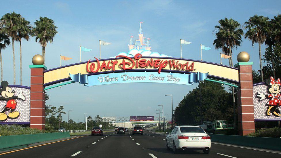 A view of Walt Disney World