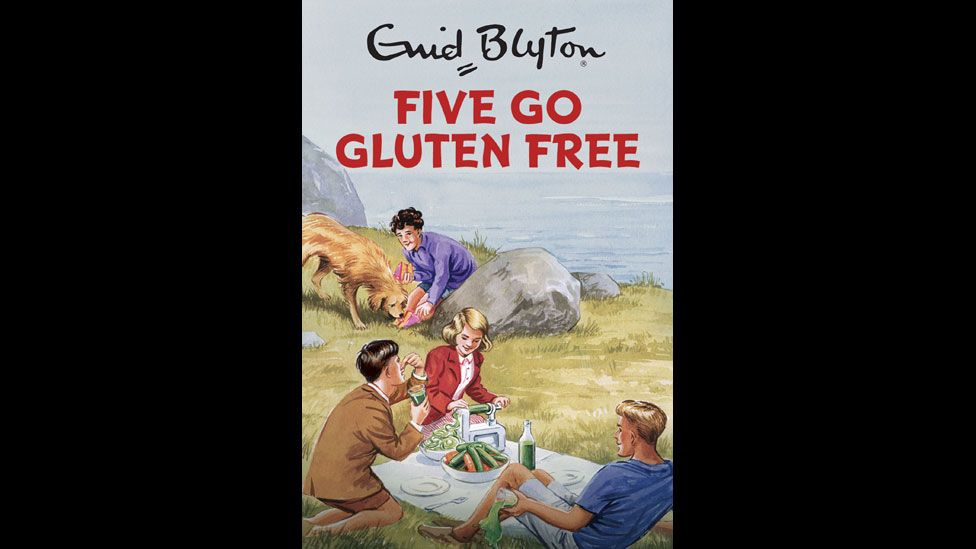 Famous Five spoof cover