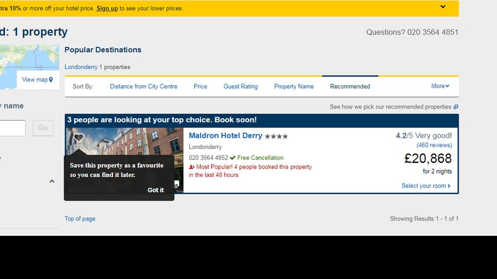 expedia screen shot