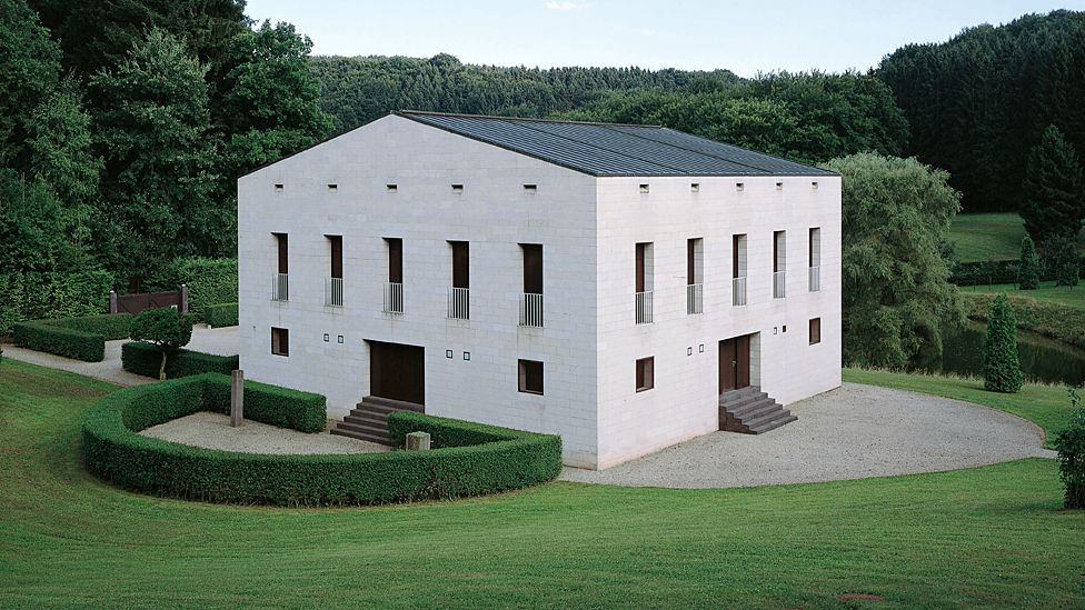 Glashutte, Eifel, Germany, by Oswald Mathias Ungers - completed 1988