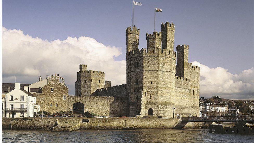 Castell Caernarfon / Caernarfon castle