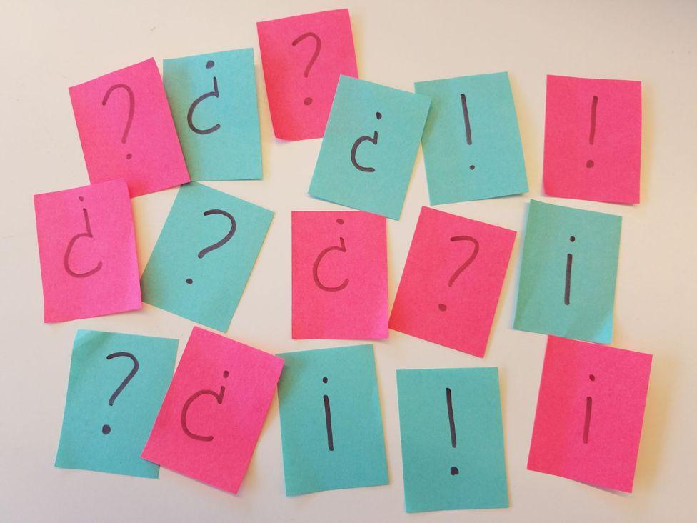Por qué el español es el único idioma que utiliza signos de interrogación (¿?) y admiración (¡!) dobles