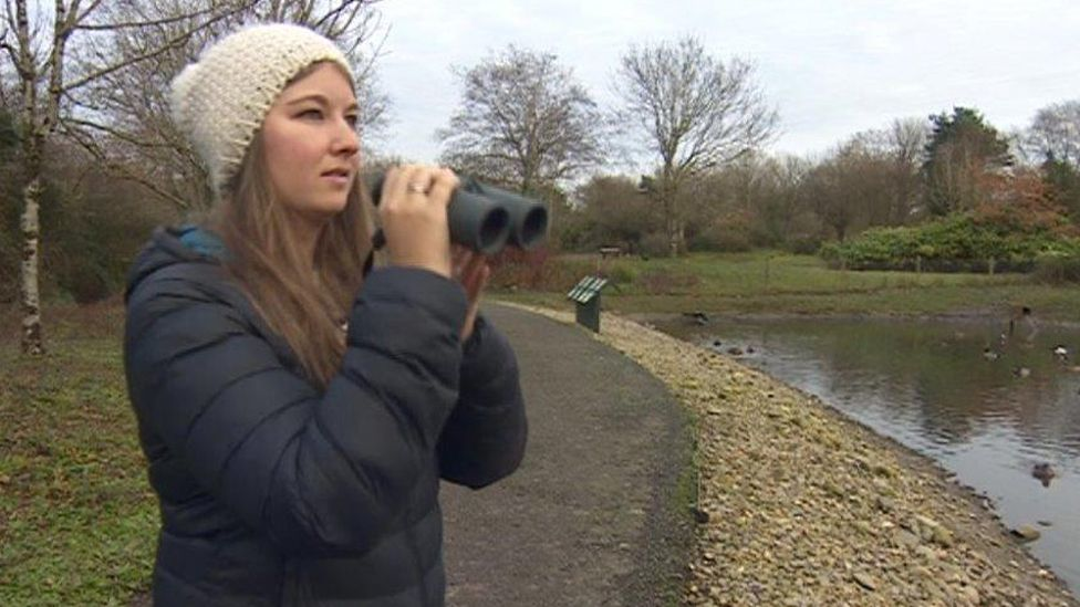 Dan Rouse has been monitoring birds in Llanelli since she was a child