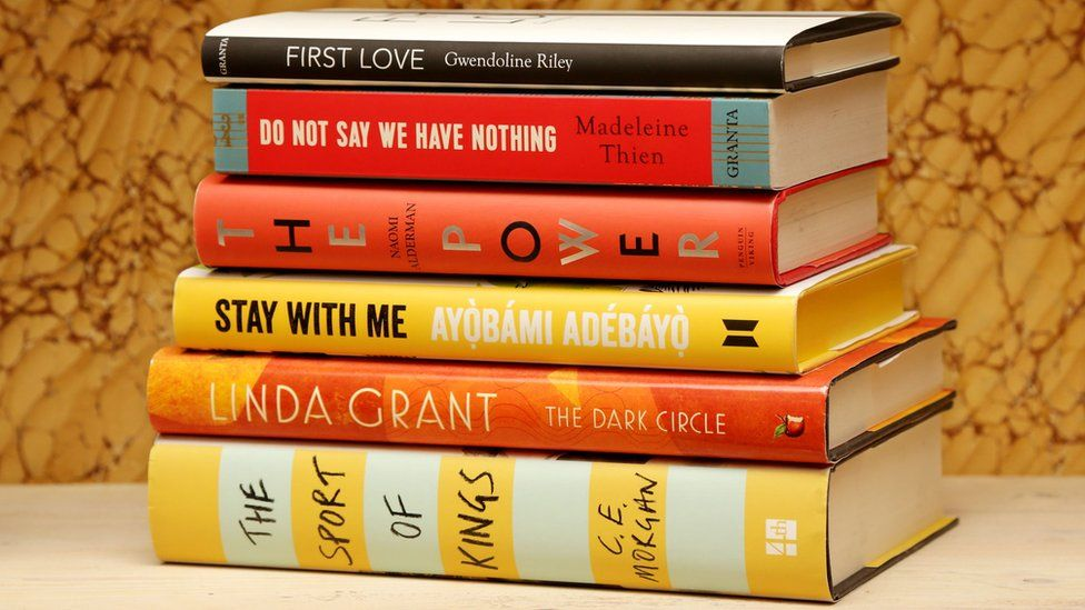 The shortlisted books