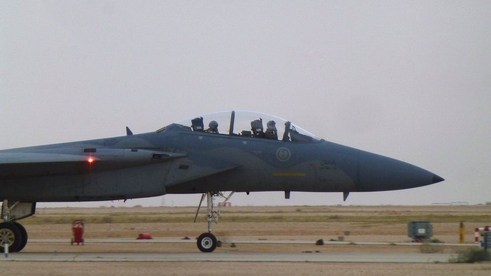 Royal Saudi Airforce F15