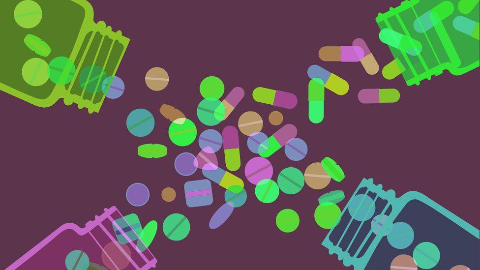 Drugs illustration