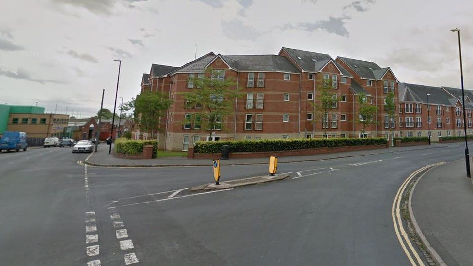 Junction of Caludon Road and Swan Lane, Coventry