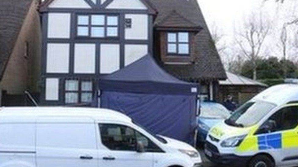 Rotherfield crime scene