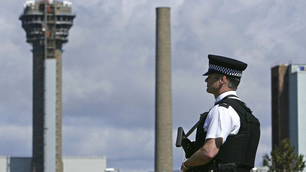 British Nuclear Police at the Sellafield site