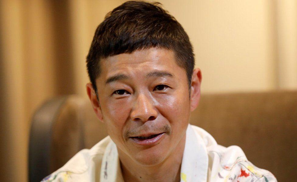 Yusaku Maezawa, 3 Mar 21
