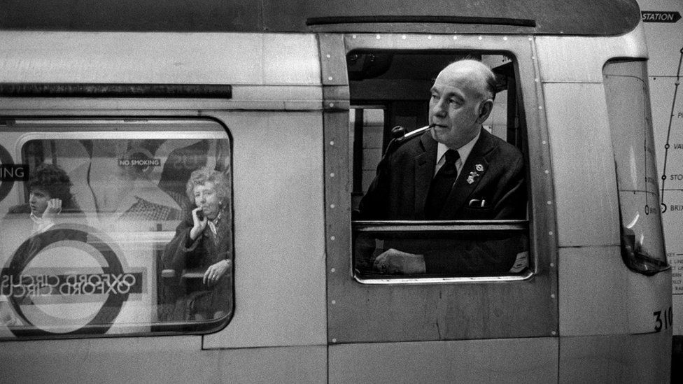 Лондонское метро 70-х. Редкие фото Майка Голдуотера