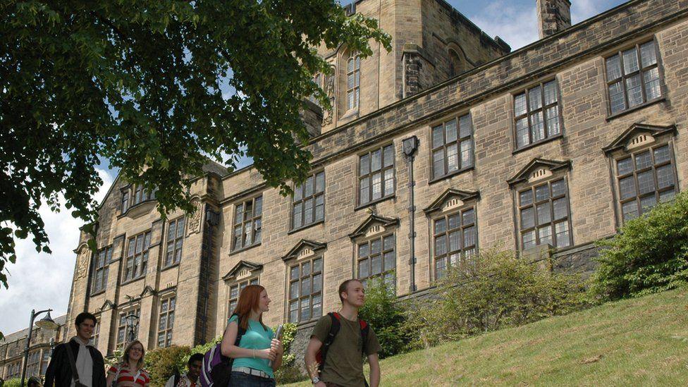 Bangor University's main building