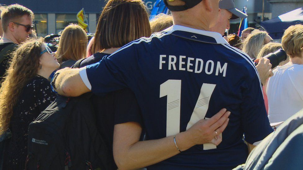 Scottish independence group marks referendum anniversary