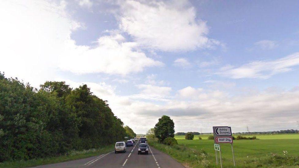 A15 in Lincolnshire