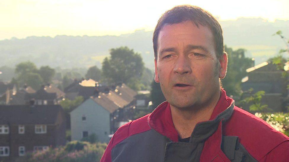 Derbyshire Deputy Chief Fire Officer Gavin Tomlinson