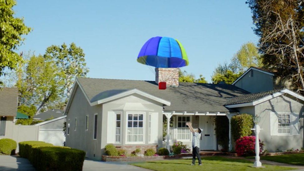 Google parachute delivery