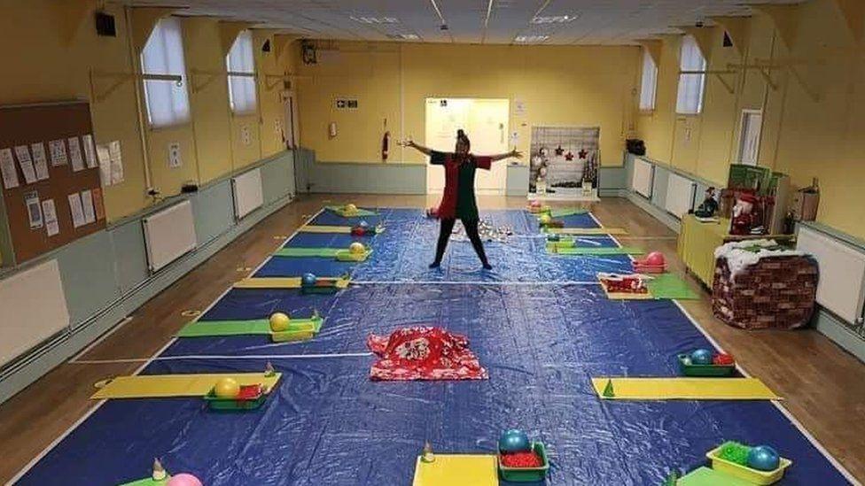 Sensory play group in Bridgend