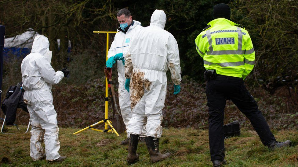 Police are investigating after human bones were found near Hardingstone by the A45