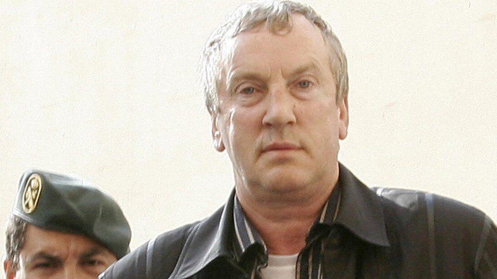 Gennady Petrov under arrest in Spain, 2008