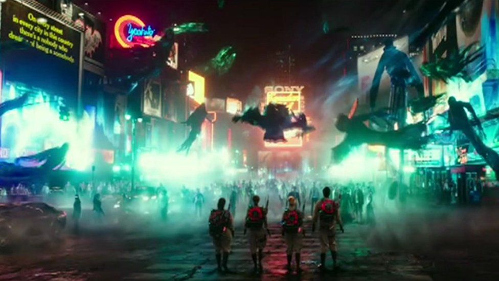 The new Ghostbusters film features four female protagonists