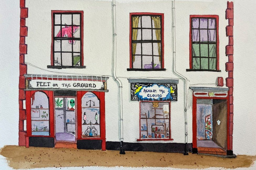 Feet on the Ground, Head in the Clouds shops in Pottergate by Nick Chinnery