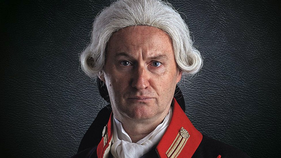 Mark Gatiss as George III