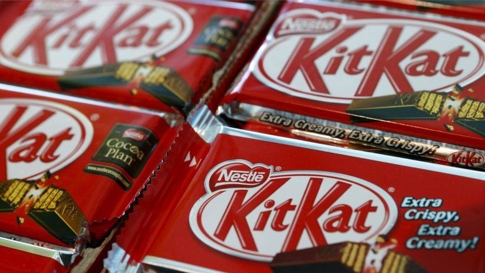 Kit Kat chocolate bars