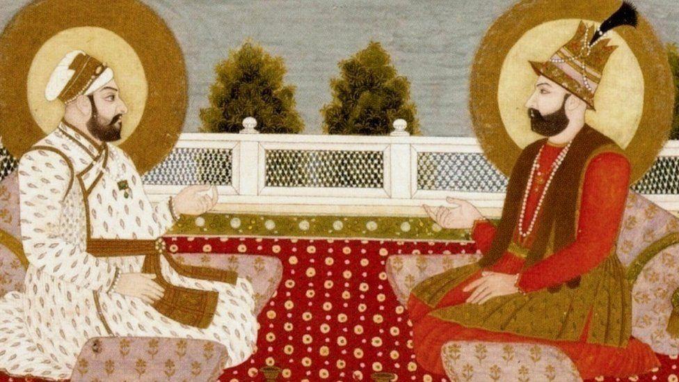نادر شاہ اور محمد شاہ رنگیلا