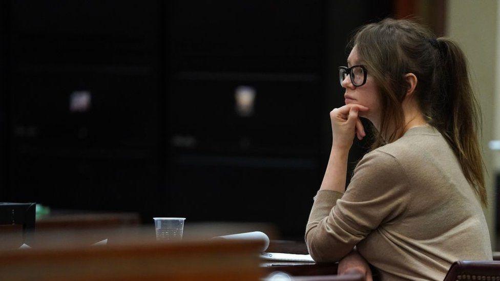 Anna Sorokin in court on 11 April 2019
