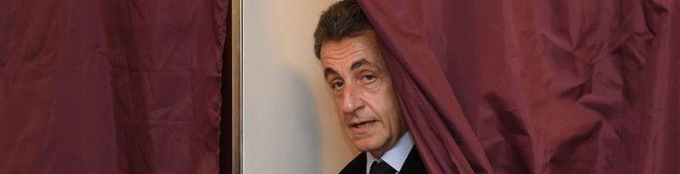 Nicolas Sarkozy. Photo: 20 November 2016