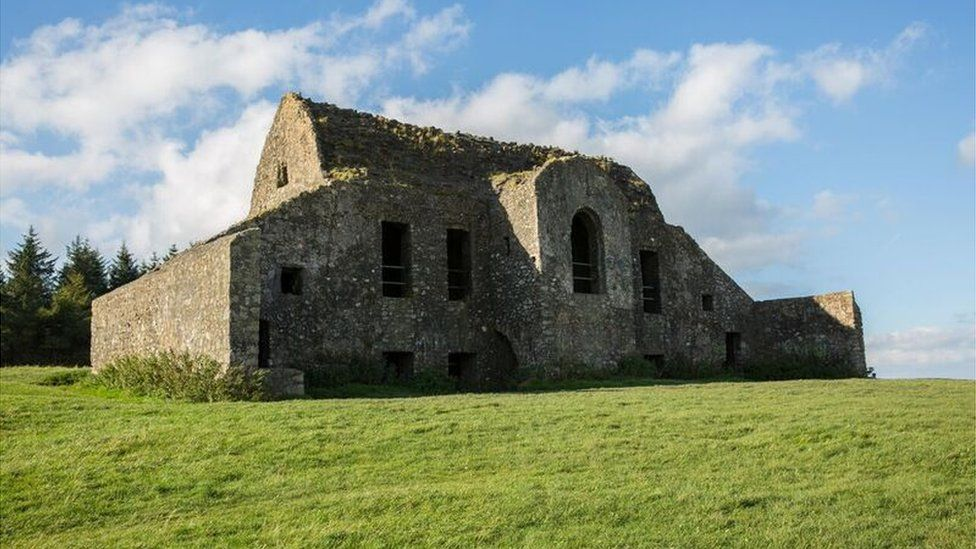 Archaeologists are excavating the site of the notorious Hellfire Club in the Dublin hills