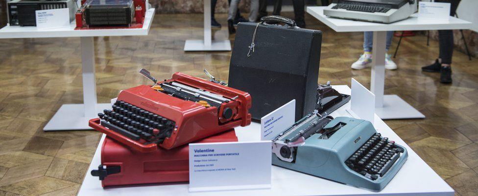An Olivetti Red Valentine